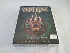 Strife Trust No One by Velocity -Vintage PC CD-ROM Game -Rare New Sealed Big Box