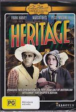 HERITAGE - Frank Harvey, Franklyn Bennett, Margot Rhys  - DVD