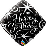 Age 60 - Happy 60th Birthday Qualatex Balloons {Helium Party Balloons Boy/Girl}