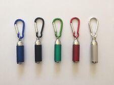 Bulk 5 x Mini LED Pocket Portable Torch + Keychain Keyring Camping Backup Light