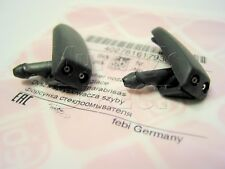 PAIR FEBI Front Twin Washer Jets for VW Mk2 Golf GTI 1988-92 Corrado 191955985A