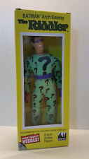 DC Comics Mego Style 8 inch The Riddler Action Figure in retro box.