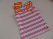 Gymboree Bright and Beachy Girls Size 6 Tank Purple Orange Stripe Shirt Top NWT