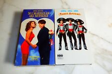 Three Amigos VHS So I Married An Axe Murderer 2 tape Steve Martin Mike Myers