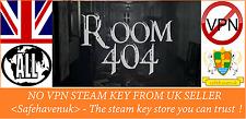 Room 404 Steam key NO VPN Region Free UK Seller