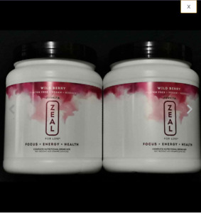 ZURVITA- ZEAL FOR LIFE -WILD BERRY FLAVOR -420g - 2 CANISTER (SHIP FAST)!!