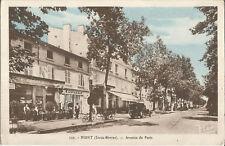 NIORT, DEUX. sèvres., Avenue de Paris, vieille carte postale de 1910