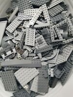 Lego Bundle 500g half kg Dark + Light Grey Silver Mixed Bricks Pieces Star Wars
