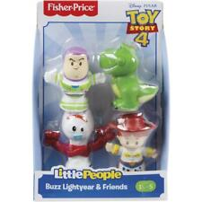 Fisher Price Little People Toy Story 4 Exclusive Figures Buzz Jessie Forky Rex