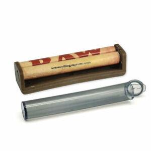 1x RAW Ecoplastik Hanfplastik 110 mm Joint Dreh-Maschine Paper Wickler + J Tube