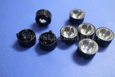 100pcs 90degree led Lens for 1W 3W High Power LED with screw 20mm White holder