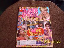 March 2014 TIGER BEAT Magazine One Direction Selena Gomez Ariana Grande valentin