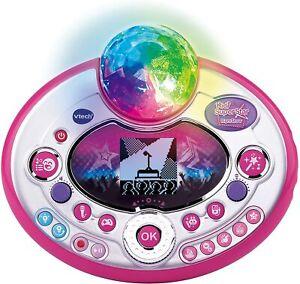 Vtech Karaoke Kidi Superstar Lightshow interaktiv elektronisch Musik Spielspaß