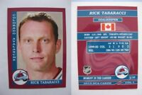 2015 SCA Rick Tabaracci Avalanche goalie never issued produced #d/10 rare