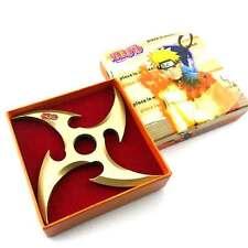 Naruto Sharingan Alloy Shuriken Kunai Sasuke Uchiha Hand Finger Top Spinner Toy