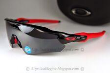 Oakley Radar EV Path POLARIZED Sunglasses OO9275-06 Polished Black W/ Black Lens