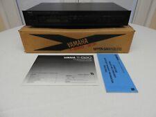 Vintage 1980s Yamaha Natural Sound Am/Fm Stereo Tuner T-520 Blk