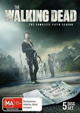 The Walking Dead : Season 5 (DVD, 2015, 5-Disc Set), NEW SEALED REGION 4