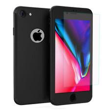 """Coque protection 360° Avant Et Arrière Verre Trempé NOIR Apple iPhone 8 4.7"""""""