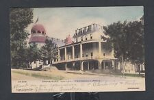 USA 1907 IMPERIAL HOTEL IN PETOSKEY MICHIGAN POSTCARD TO RAVENNA OHIO