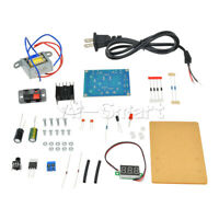 LM317 1.25V-12V Adjustable AC to DC Regulated Power Supply Module DIY Kit AS