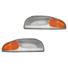 Fits 97-04 Corvette Driver Passenger Parking Signal Light Lamp Assembly 1 Pair