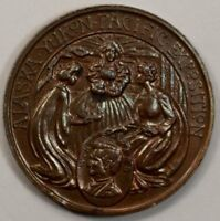 US Alaska Yukon 1909 Medal Pacific Exposition Bronze