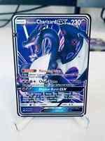 ⭐⭐Premium Shadow Glurak GX Shiny Charizard GX Metall Gold Pokémon Karte⭐⭐