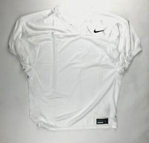 Nike 2019 Elite Stock Mesh Football Practice Jersey Men's Large White AO4801