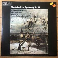ASD 3090 Shostakovitch Symphony 14 / Vishnevskaya / Rostropovitch / MPO