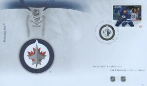 CANADA - NHL - WINNIPEG JETS - FIRST DAY COVER 2013