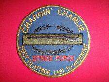 Vietnam War Patch CHARGIN' CHARLIE STRIKE FORCE 1st Squadron 9th Air Cavalry Rgt