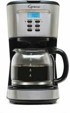 Capresso 12-Cup Programmable Coffee Maker, Stainless  Steel