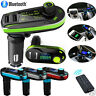 Wireless Bluetooth Car Kit MP3 Player FM Transmitter SD TF Dual USB Car Charger