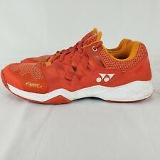 Yonex Badminton Tennis Shoes Sneakers Men's Size 11 Orange Power EUC
