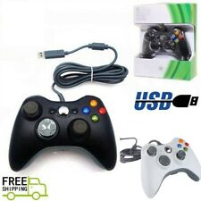 USB Wired Controller Gamepad Remote for Microsoft Xbox 360 / windows PC Laptop
