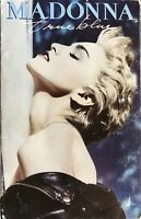 K7-TAPE-CASSETTE- MADONNA - TRUE BLUE