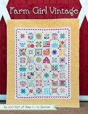 FARM GIRL VINTAGE Lori Holt Bee In My Bonnet Quilt Pattern Book Its Sew Emma