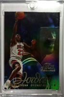 1996-97 Flair SHOWCASE Michael Jordan STYLE ROW 2 Chicago Bulls HOF #23, Sharp!