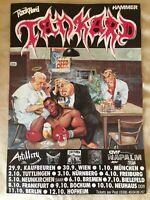 TANKARD - Original Deutschland/ DDR -Tournee Plakat von 1990