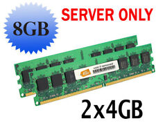 Server RAM 8GB 2x 4GB PC3L-10600R ECC REG 2Rx8 DDR3L 1333MHz DIMM 240-pin Memory