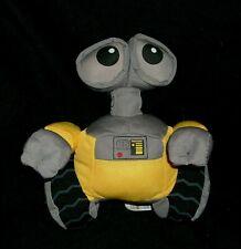 """7"""" WALL-E DISNEY STORE YELLOW ROBOT STUFFED ANIMAL PLUSH TOY PIXAR WALLE BEANS"""