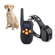 Collar de adiestramiento de perros corteza Recargable Impermeable eléctrico Dog