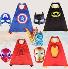 Kid Superhero Clothes Party Dress Outfit Iron Spider Man Costume Avengers