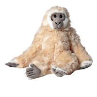Plüschtiere, Stofftiere, Kuscheltiere - Gibbon Affe, beige -