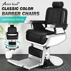 Heavy Duty Recliner Hydraulic Barber Chair Tattoo Salon Spa Beauty Equipment