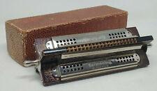 TREMOLO Hohner Harmonica 4 Sided 40 Hole Original Box Key C F G D