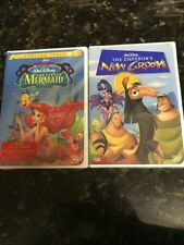 The Little Mermaid (DVD, Limited Issue) NEW!! Emperors New Groove! SEALED!