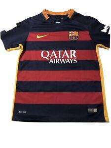 Nike Dri Fit Boys M FC Barcelona Jersey Authentic