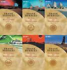 Frank Herbert / Wüstenplanet Band 1-6   Dune Zyklus plus 1 exklusives Postka ...